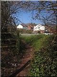 SX9066 : Path onto Browns Bridge Road by Derek Harper