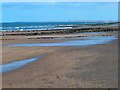 NU0248 : Cocklawburn Beach and Near Skerrs by Oliver Dixon
