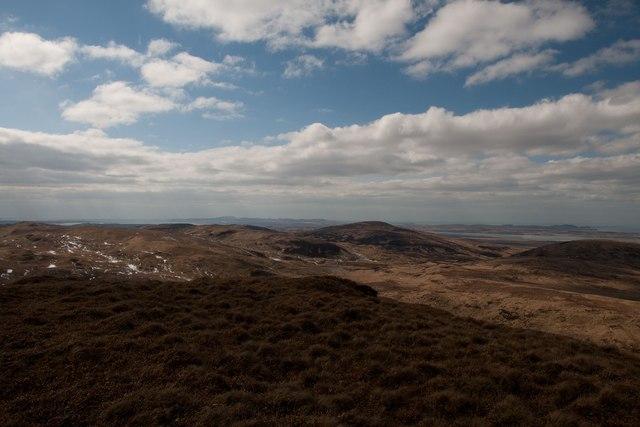 Looking north-west from Giùr-bheinn, Islay