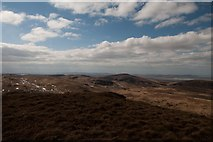 NR3772 : Looking north-west from Giùr-bheinn, Islay by Becky Williamson