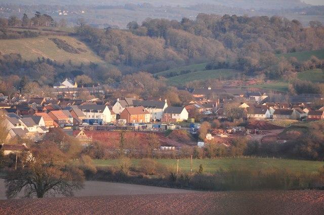 Mid Devon : Cullompton Scenery