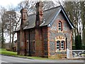 SU8285 : Lodge House at entrance to Harleyford Manor by Bikeboy