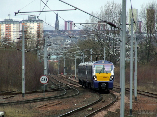 dalmarnock train station reopening a bankruptcy