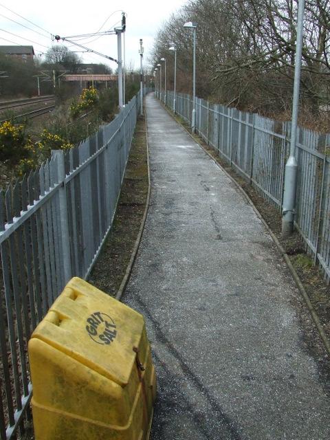 Footpath at Rutherglen Station