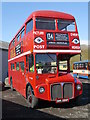 NY7914 : An AEC Routemaster At Brough by James T M Towill