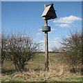 TL4269 : Bird-box on Haven Drove by John Sutton