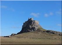 NU1341 : Lindisfarne Castle by Barbara Carr