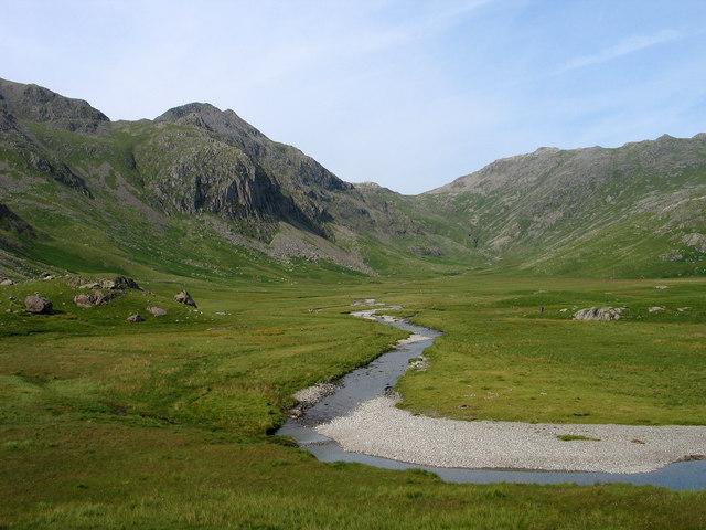 River Esk in upper Eskdale