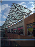 SJ3490 : Upper level of Liverpool One Shopping Centre by Richard Hoare