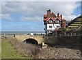 NZ8612 : The last bridge by Pauline E