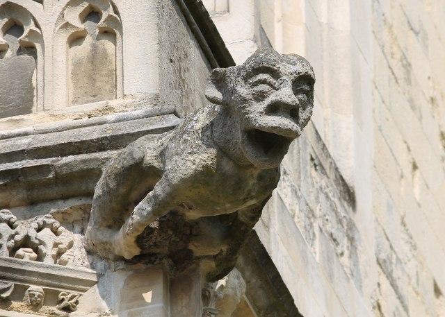 Gargoyle Canterbury Cathedral 169 J Hannan Briggs Cc By Sa 2 0 Geograph Britain And Ireland