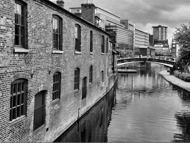 Old Turn Roving Bridge  Birmingham centre