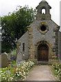 SK1871 : Gravestones at Little Longstone Congregational Chapel by Trevor Littlewood