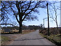 TM4769 : Minsmere Road, Dunwich by Adrian Cable