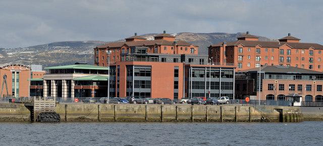 Proposed office site, Clarendon Dock, Belfast (2013-1)