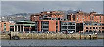 J3475 : Proposed office site, Clarendon Dock, Belfast (2013-1) by Albert Bridge