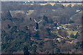 TQ2350 : Reigate Heath Windmill from Reigate Hill by Ian Capper