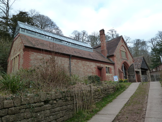 Find A Gas Station >> Tyntesfield - sawmill and engine house © Chris Allen cc-by ...