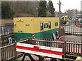 TQ3838 : Temporary ticket office for the Bluebell Railway by Stephen Craven