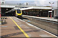 SP3378 : Didcot-bound train in Coventry Station by Roger Templeman