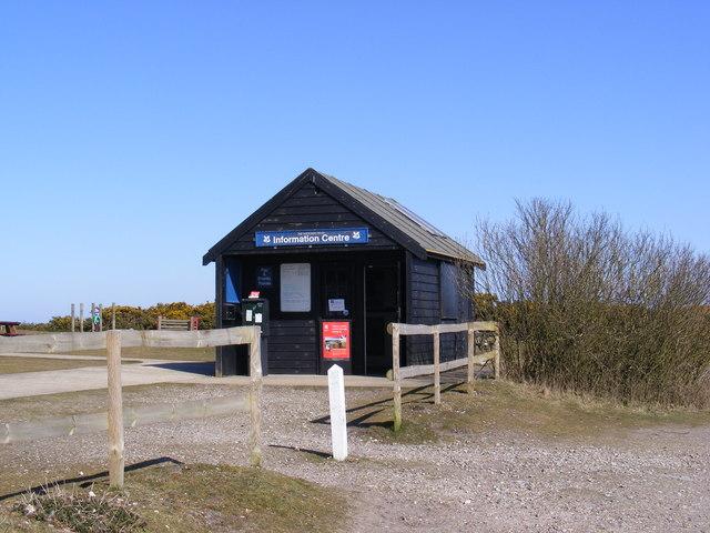 Information Centre on Dunwich Heath