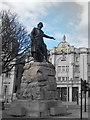 NJ9306 : William Wallace Statue, Rosemount Viaduct, Aberdeen by Bill Harrison