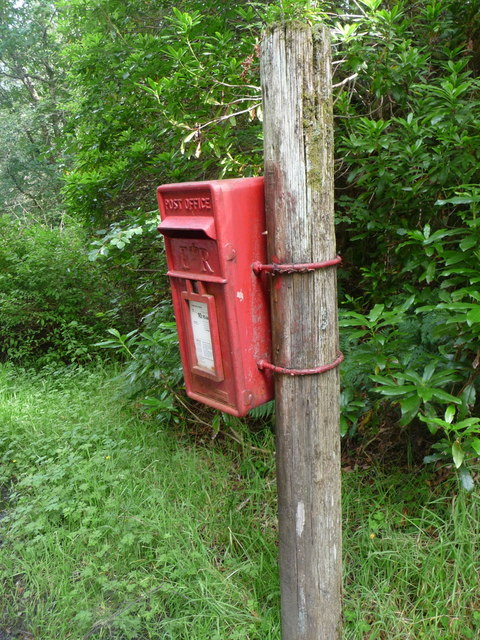Port Appin: postbox № PA38 14