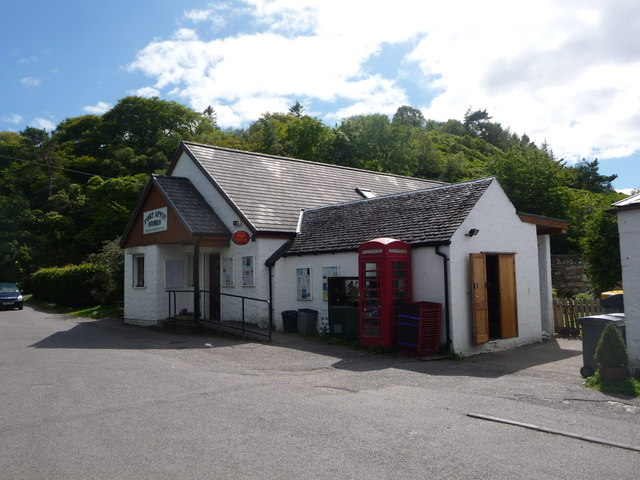 Port Appin: the stores and post office