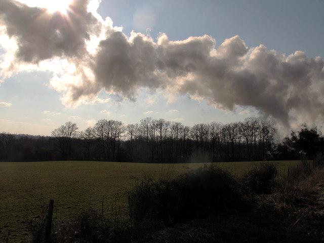 Smoke and sunshine