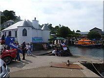NM8529 : Oban: the lifeboat station by Chris Downer