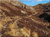 NC1719 : Track from Loch na Gainimh towards Canisp by wrobison