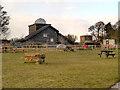 SJ5088 : Picnic Area and Visitor Centre, Pex Hill by David Dixon
