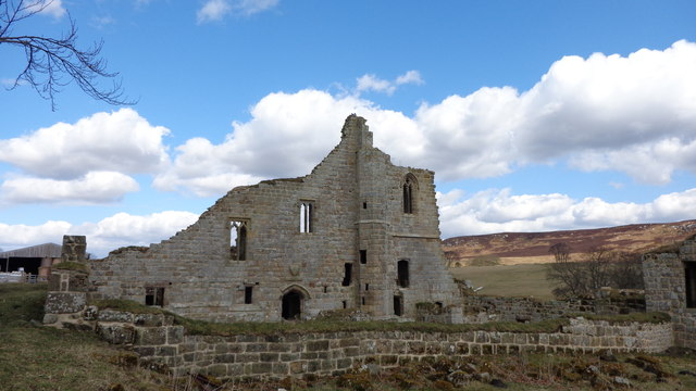 Ruins of Cartington Castle