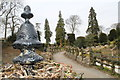 SE5007 : Rockery at Brodsworth Hall by Dave Pickersgill