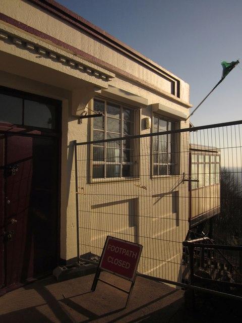Barrier, Babbacombe Cliff Railway