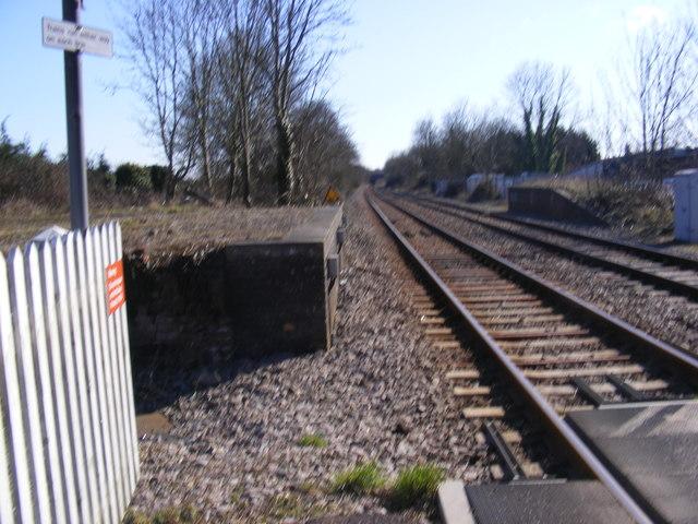 Railway Lines at Darsham Railway Station