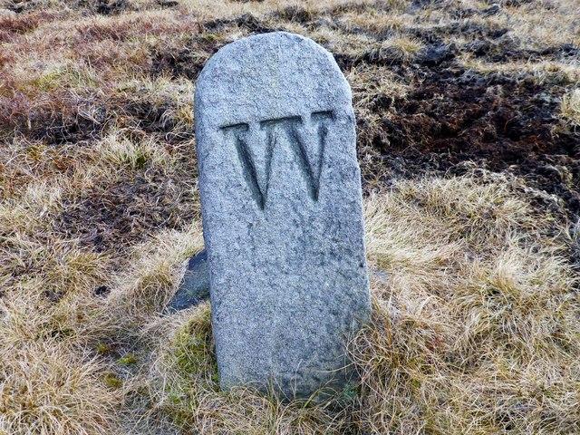 Boundary Stone On Hameldon