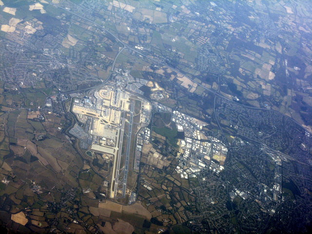 Gatwick Airport and Tinsley Green