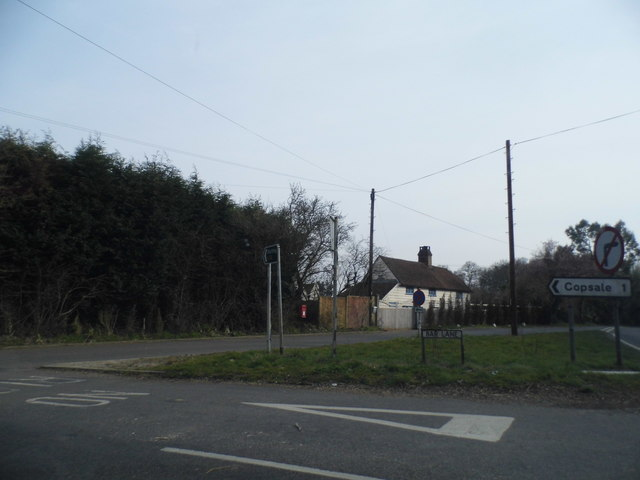 Bar Lane at the junction of the A24