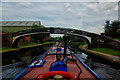SP0288 : Smethwick Main Line Turnover Bridge by Gillie Rhodes
