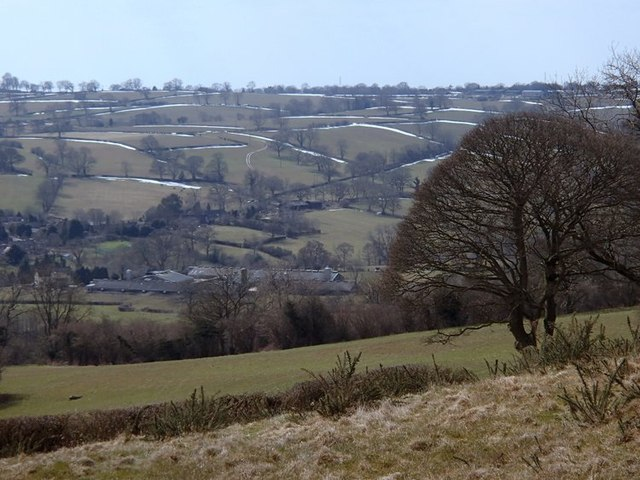 Overlooking Biggin from The Mountain