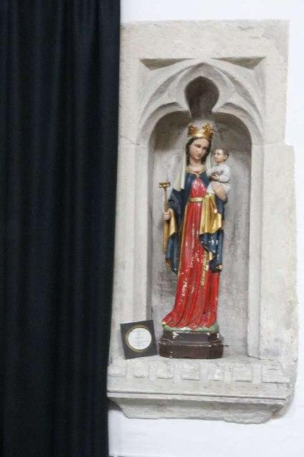 Statue in the alcove