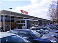 TL8565 : Tesco Bury St.Edmunds by Adrian Cable