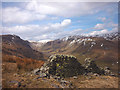 NY4804 : Dilapidated wall above Longsleddale by Karl and Ali