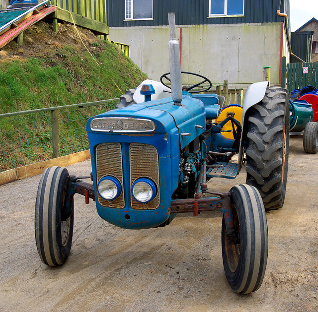 Tractor, Lurgybrack Open Farm