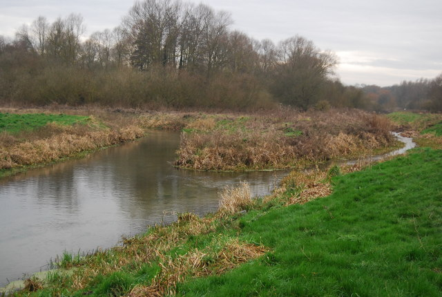 Confluence of the Little Stour and Wingham River