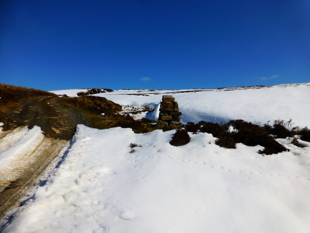Cairn Beside Track