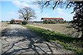 SU5699 : Towards Marsh Baldon Dutch Barns by Graham Horn