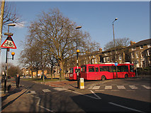 TQ4077 : 202 bus stand by Stephen Craven
