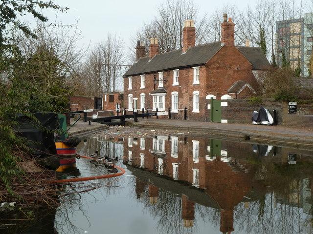 Canal-side scene, Wolverhampton